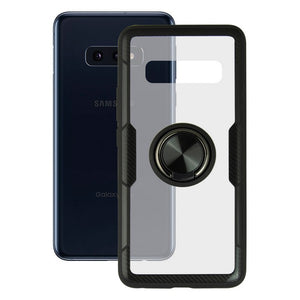Housing with ring Galaxy S10e KSIX 360 Ring Transparent