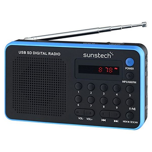 Transistor Radio Sunstech RPDS32BL Blue