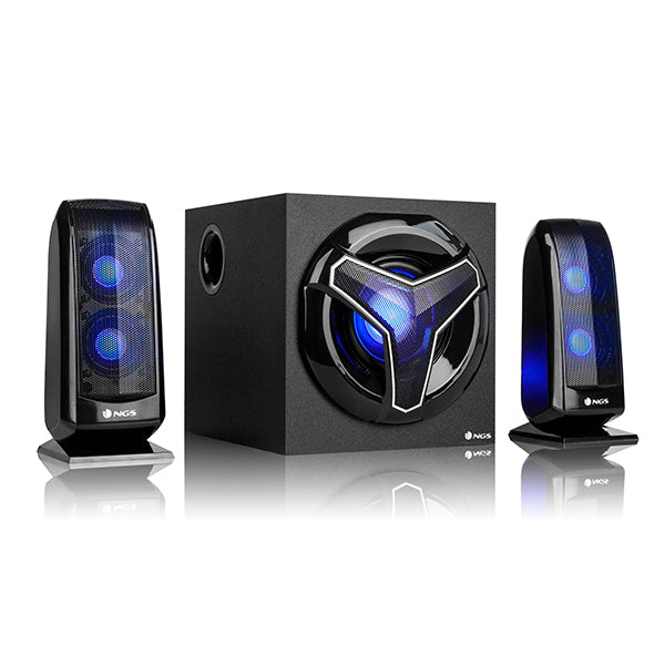 Gaming Speakers 2.1 NGS GSX-210 Bluetooth 80W Black