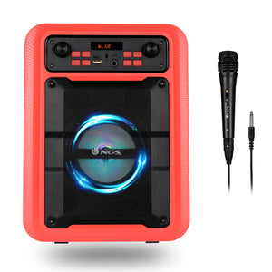 Portable Speaker NGS Roller Lingo 20W Red