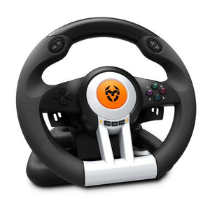 Racing Steering Wheel Krom NXKROMKWHL USB Black