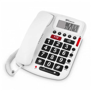 Landline for the Elderly Telecom 3293B White