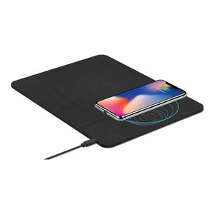 Mat with Wireless Charger Subblim SUB-MP-10WPU01 10W Black