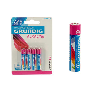 Batteries Grundig AAA LR03 (4 pcs)