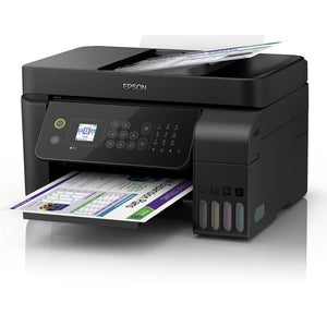 Multifunction Printer Epson Ecotank ET-4700 10 ppm WiFi Fax Black