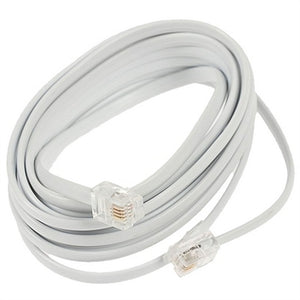 Telephone cable GEMBIRD TC6P4C-3M (3 m) White