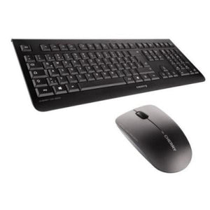English Keyboard and Wireless Mouse Cherry JD-0700GB-2 Black