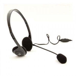 Headphones with Microphone Ewent EW3563