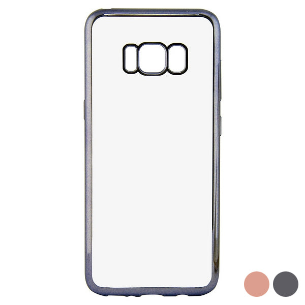 Mobile cover Galaxy S8+ Flex Metal