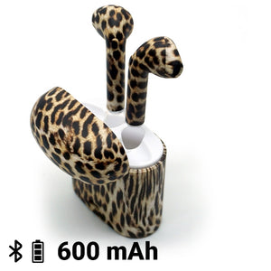 Bluetooth Headphones Contact Animal Print 600 mAh
