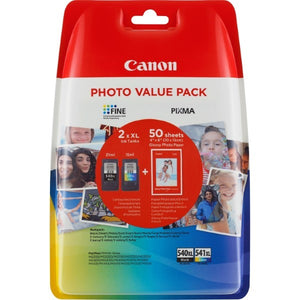 Original Ink Cartridge (pack of 2) Canon PG-540XL/CL-541XL (Refurbished A+)