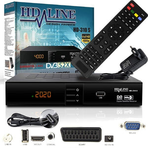 Satellite Receiver Digital Full HD (Refurbished A)