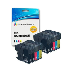Original Ink Cartridge Brother DCP (10 pcs) (Refurbished A+)