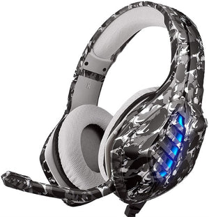 Gaming Headset with Microphone J1 MCH Camouflage Grey (Refurbished A+)