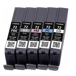 Original Ink Cartridge Canon PGI-72 Pixma PRO10 (5 pcs) (Refurbished A+)