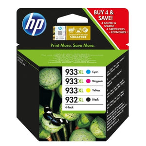 Original Ink Cartridge HP OfficeJet (4 pcs) (Refurbished A+)