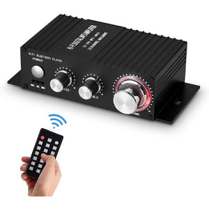 Wireless Stereo Amplifier USB Bluetooth (Refurbished A+)
