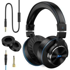 Headphones with Headband Moukey MMH-1 Black (Refurbished B)