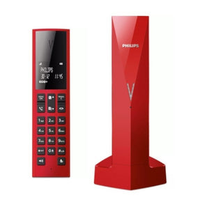 Wireless Phone Philips M3501R/34 Red 1,8""