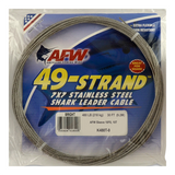 AFW 49 Strand Stainless Cable Leader<br>400 – 900 LB – 30 Ft Coils – Camo