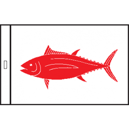 SunDot Capture Flags <br>Albacore Tuna