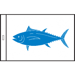 SunDot Capture Flag – BlueFin Tuna