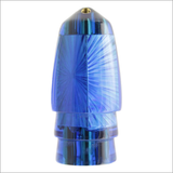 Koya +Bullet Lure Jetted – Blue Starburst Iridescent Mother of Pearl Shell Wrap – Nine Plus