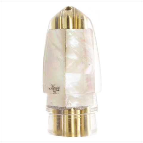 Koya +Bullet Lure Jetted – White Classic Iridescent Mother of Pearl Shell Wrap – Nine Plus
