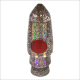 Koya Bullet Lure – Firecracker Tinsel With Reflective Silver Shell Wrap – Small