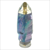 Koya Bullet Lure – With a Turquoise Iridescent Mother of Pearl Shell Wrap – Small