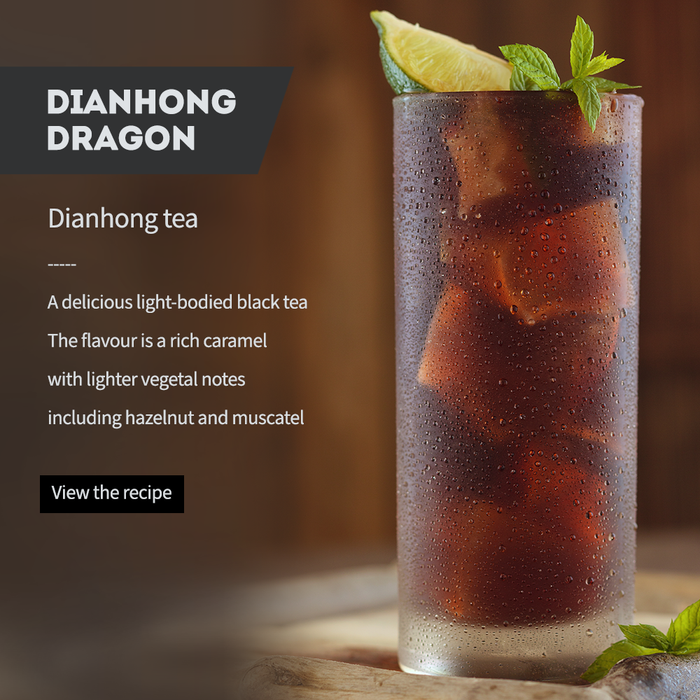 SPLASH INTO ICED TEA SEASON - Dianhong Dragon