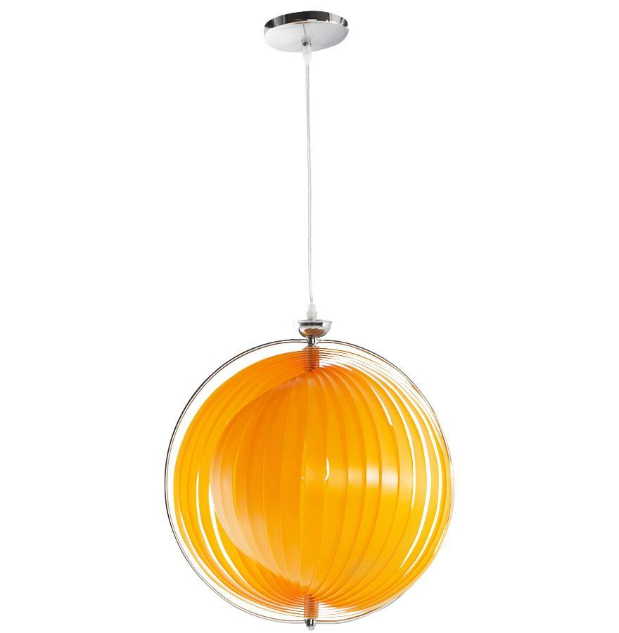 Lampe Suspendue EMILY-Orange-SERENA DECO