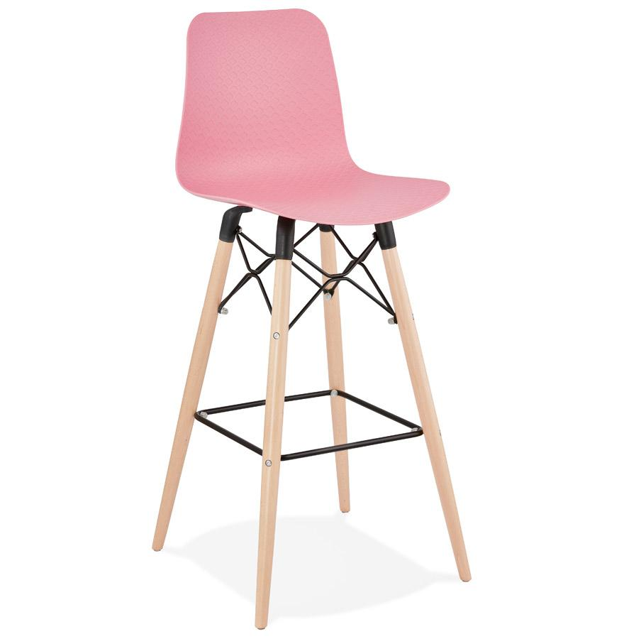 Tabouret de Bar DETROIT-Rose-SERENA DECO