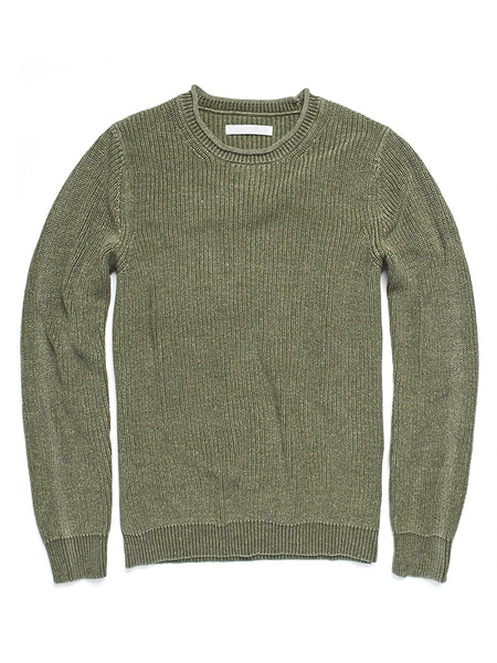 Thejazzyshop Men'S Knitted Crew Neck Sweater