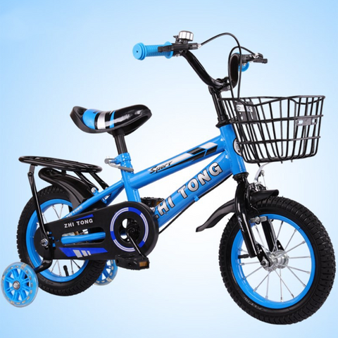 Thejazzyshop Children bike 2-7 years bicycle stroller boys and girls unique bicycle