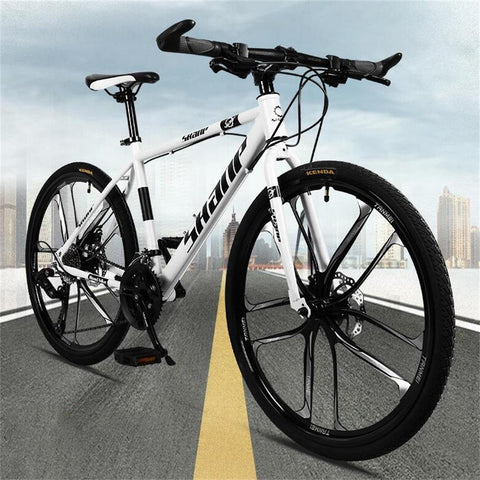 26inches Double-Disc Brake Integrated Wheel Off-Road Variable Speed Mountain Bike