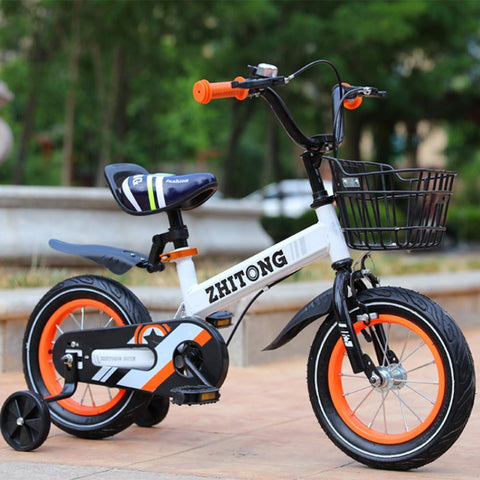 Kids' Mountain Bike 12/14/16/18 inch Boys and Girls with High Carbon Steel Frame