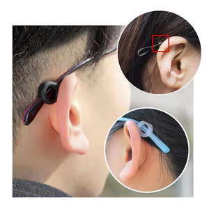 Silicone Eyeglasses Temple Tips Sleeve Retainer