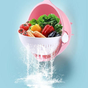 HOT SALES!!~Wash and Drain Bowl Drain Filter Basket