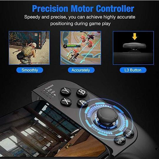 [Saitake] Bluetooth Mobile Game Controller