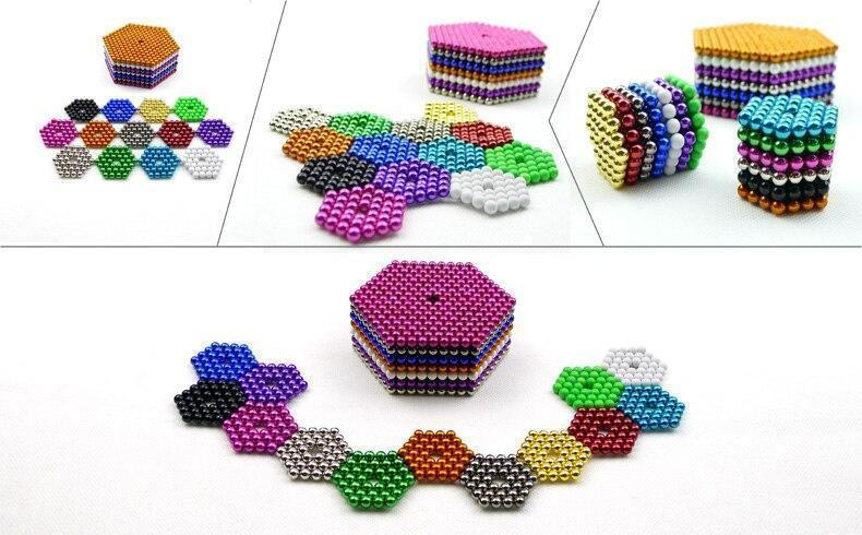 Magnetic Magic Cube【Buy 2 Get 1  And Free Shipping】