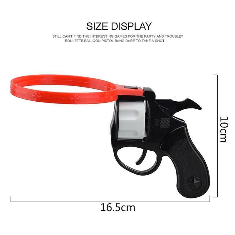 Russian Roulette Model Balloon Gun Inflator Party Creative Adult Tricky Funny -Ballons Wholesale Supplier- Cool Fashion Gift - Camera - Jake Paul - Fashion
