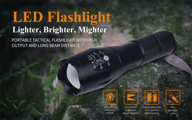 Flashlight With Batteries