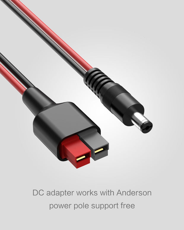 ALLPOWERS DC5521(5.5mm x 2.1mm) to Anderson Connector Adapter Cable