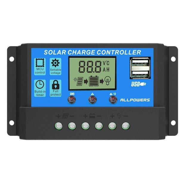 ALLPOWERS Solar Charger Controller (20A)