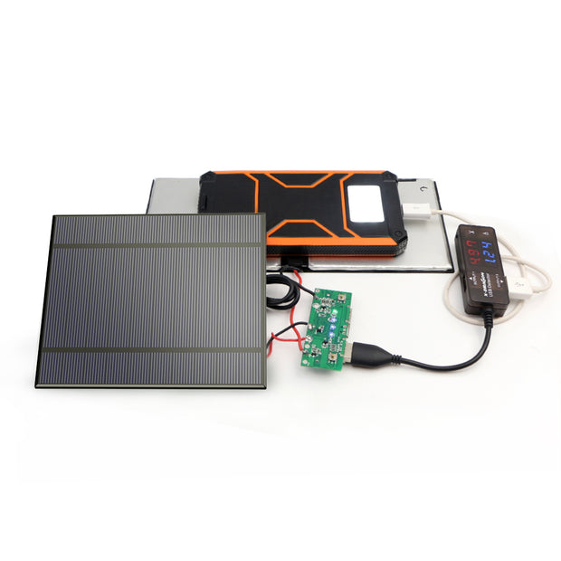 ALLPOWERS 2 Pieces 2.5W 5V/500mAh Mini DIY Solar Panel Charger Kit (Solar Cell Only)