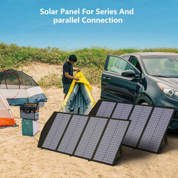 ALLPOWERS 120W Portable Solar Panel Charger