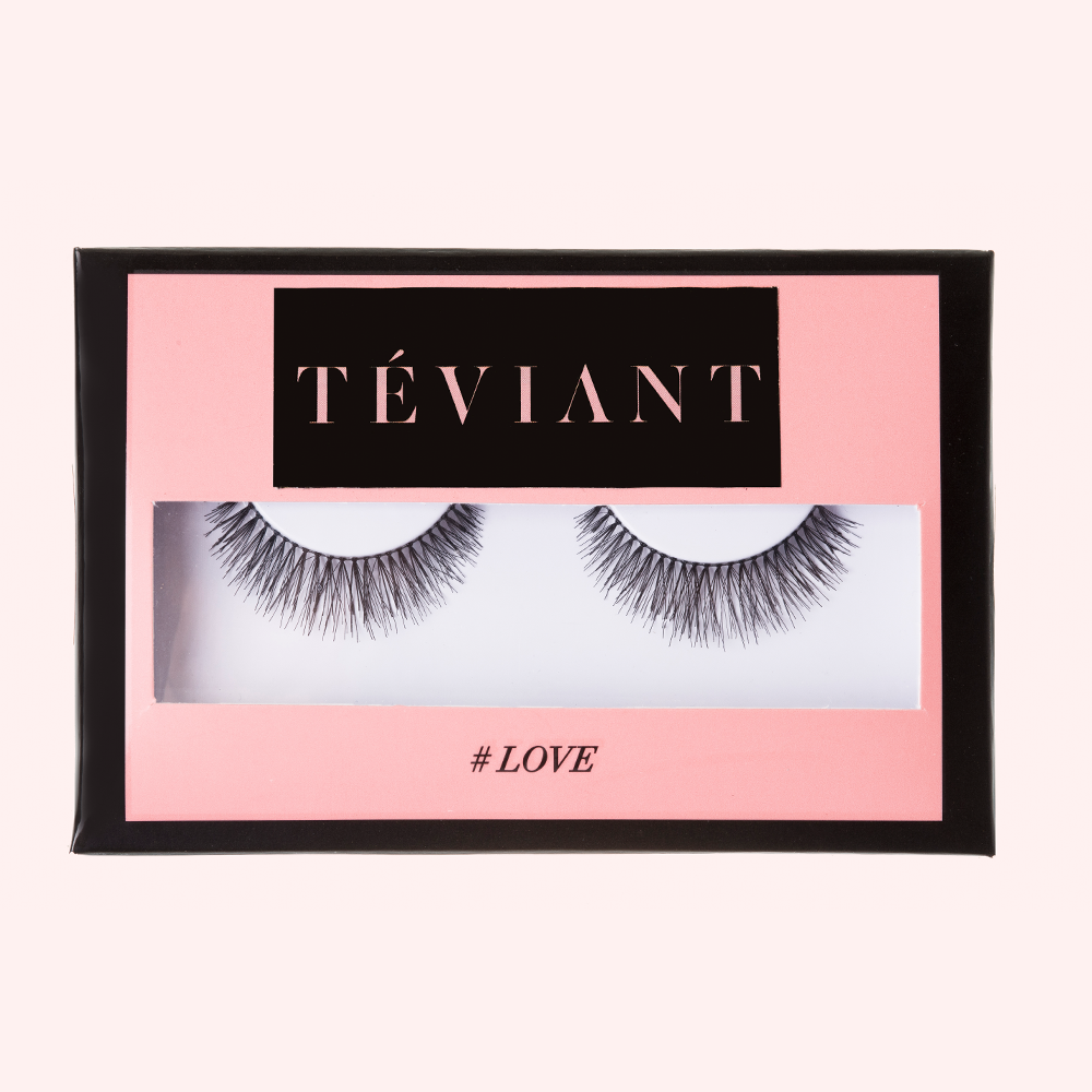 LOVE FALSE EYELASHES - Teviant Beauty