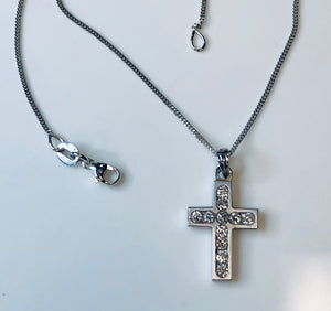 Hand Made Diamond Cross
