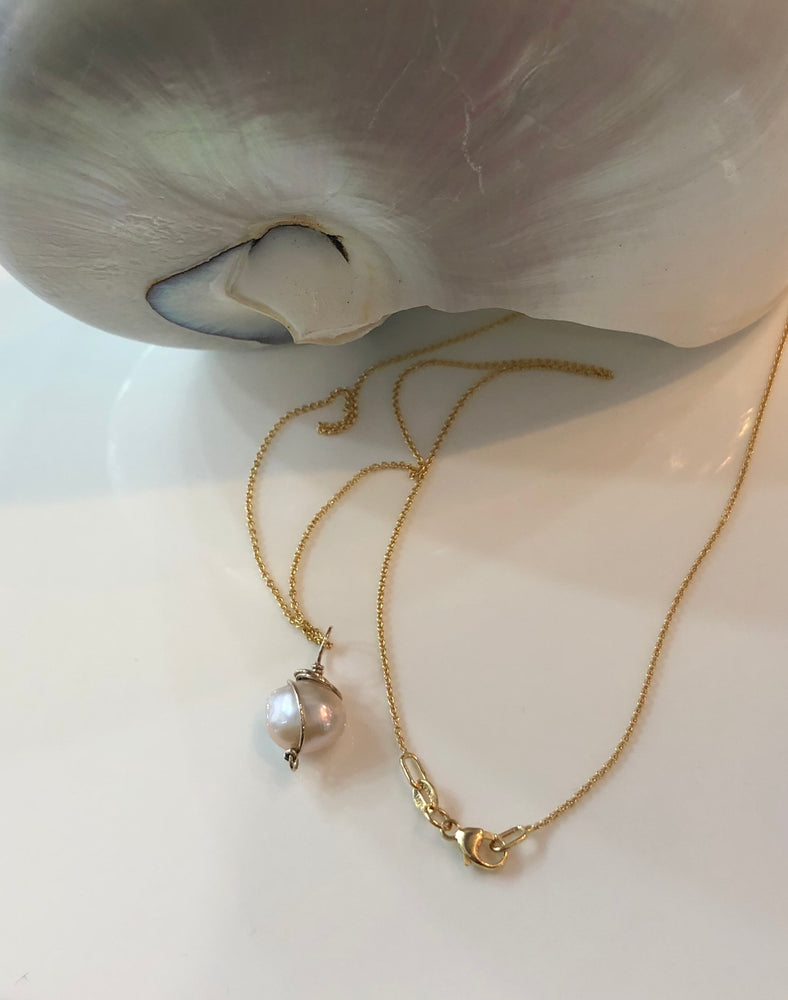 Hand made Fresh Water Pearl Pendant